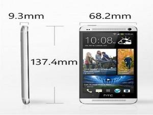 Какие габариты у HTC One ?